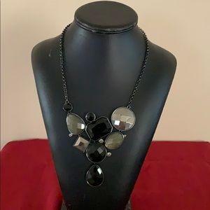 Women's black necklace